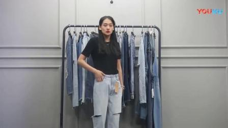 7月16日杭州夏季新款爆款女装批发(牛仔裤系列)多份 20件  750元【注:不包邮】_高清