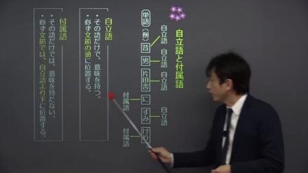 【古文】 古典文法入門2 文・文節・単語/品詞 (21分)