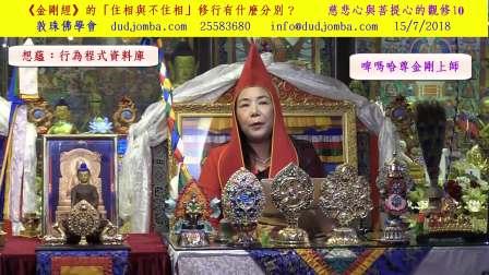 《金刚经》的「住相与不住相」修行有什么分别?(粤语)慈悲心与菩提心的观修10粤语