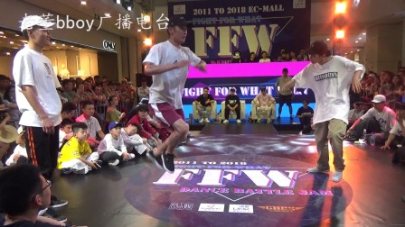 All style top16 许诺 小泉 vs 落小舞team -FFW2018