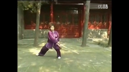 陈式太极剑49式   徐勤兰背向演练
