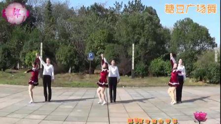 《浪漫的草原》交谊舞中三 抚州左岸风情广场 附正背面演示-5'57