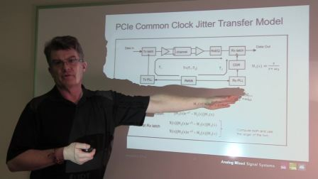 PCI Express Common Clock Jitter Model and Transfer Functions