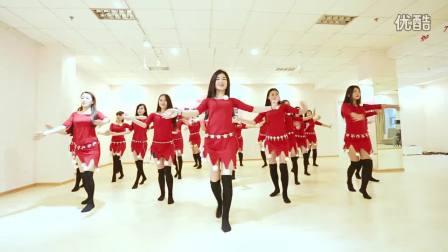 舞依芭肚皮舞培训 圣诞节舞蹈_超清_clip