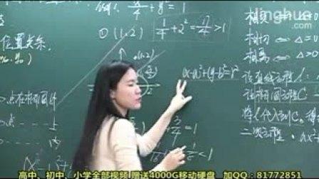 3-1点、线和椭圆的位置关系 精华-司马红丽6.【模块基础同步】选修1-1(下)