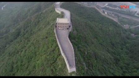 航拍北京昌平居庸关长城