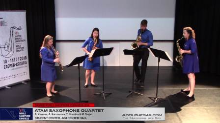 Sculptures by Timothy Blinko - Atam Saxophone Quartet