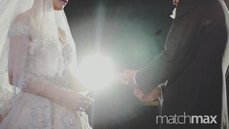 """Matchmax(麦弛)作品:""""婚礼上他说'你愿意做我女朋友吗'""""北京金茂万丽酒店婚礼"""