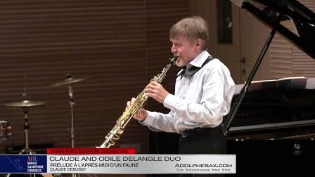 Prelude a l´apres-midi d´un faune - Claude and Odile Delangle Duo