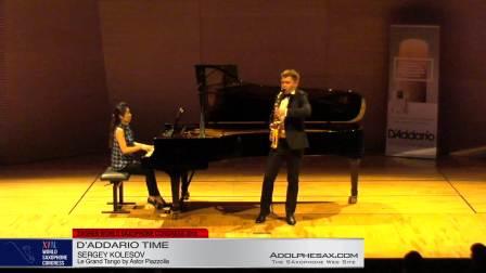 Le Grand Tango by Astor Piazolla - Sergey Kolesov