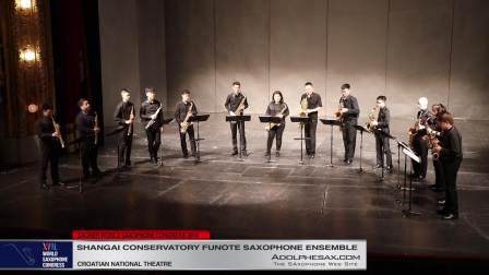 Golliwogg´s Cakewalk by Claude Debussy - Shanghai Conserv Sax Ensemble
