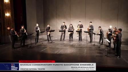 Sacred Moment by Hesheng Wang - Shanghai Conservatory Saxophone Ensemble
