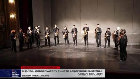 Devil´s Rag by Jean Matitia - Shanghai Conservatory Saxophone Ensemble