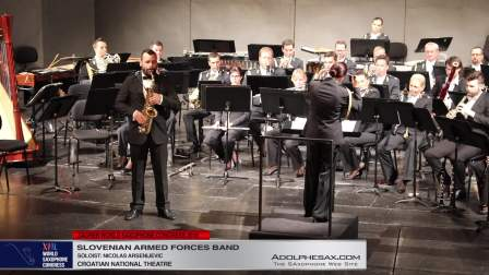 Concertino by Mladen Tarbuk - Nicolas Arsenijevic -Slovenian Armed Forces Band