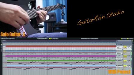 【吉他雨工作室】老鹰乐队-《加州旅馆》1977版尾奏双主音电吉他SOLO教学(附谱附伴奏)。