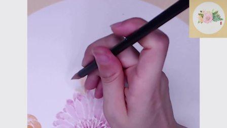 国画菊花 教程