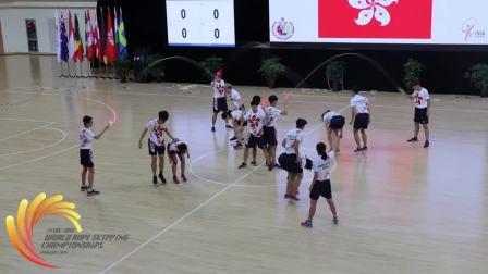 2018世界跳绳锦标赛-表演赛-中国香港队