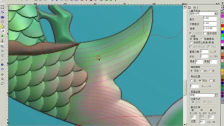 全套北京精雕教程之浮雕设计制图工具讲解视频