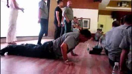 城固县卫士保安服务有限公司第二届精英保安培训