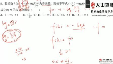 A1考点2奇函数及美眉函数例题精讲