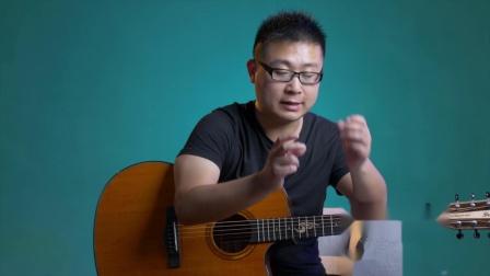 (吉他)《春天里》D调标准版吉他弹唱教学 汪峰 高音教