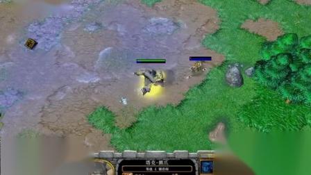 【气势扑面而来】魔兽争霸大帝解说黄金联赛_Moon_vs_TH000_AI