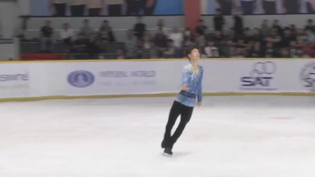 Sota YAMAMOTO 山本草太 Asian Open Figure Skating Trophy 2018 Men - Free Skating