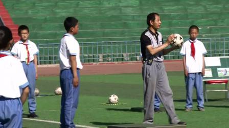 《肩肘倒立》優質課(科學版五年級體育,朱興亮)