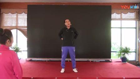 2018杨柏龙老师第一期大讲堂上讲授八段锦3_高清
