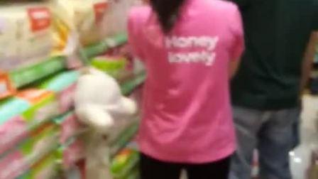 广州丽江花园可爱可亲母婴店开业火爆现场