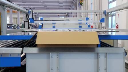 9、Montalese-带吸盘式包装线