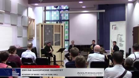 String Quartet in G minor Op.10 by Claude Debussy - Ziryâb Saxophone Quartet