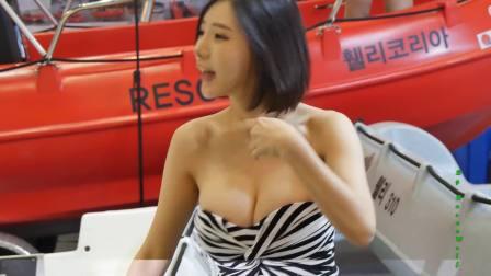 한순간도 눈을 뗄수없는 레이싱모델 송주아 직캠 3(Song JuA) 2018 부산국제보트쇼 레이싱걸