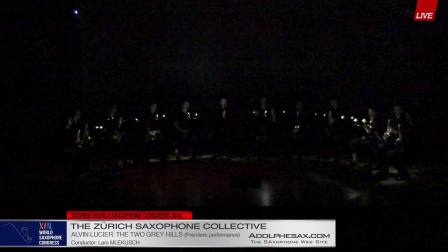 The two grey hills by Alvin Lucier -  The Zurich Saxophone Collective