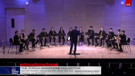Siegfried Idyll by Richard Wagner -  The Zurich Saxophone Collective