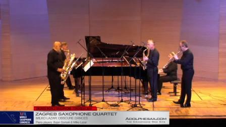 Obscure Dances by Milko Lazar -  Zagreb Saxophone Quartet
