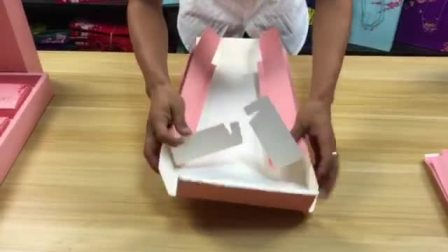 辰昭包装 月饼盒折叠方法