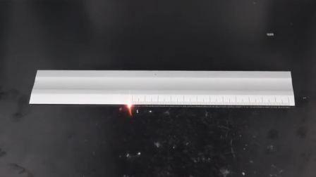 赛硕光纤激光打标机尺子镭雕