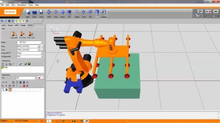 库卡KUKA Sim Pro 2.2机器人培训视频教程