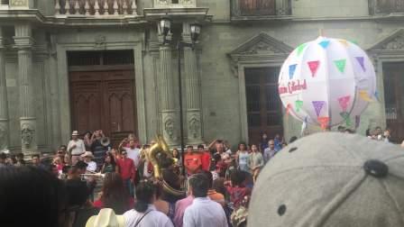 墨西哥瓦哈卡Oaxaca天主教信徒小小小嘉年华