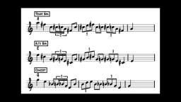 【爵士練習】練耳.Sax:RdH.轉錄Lick.47 - Major Blues Lick (Gene Ammons風格)