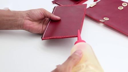 慢点纯手工制作一款时尚的斜跨小方包
