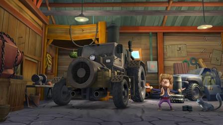 熊出没: 强哥的发明向来不靠谱, 不知道蒸汽机怎么样