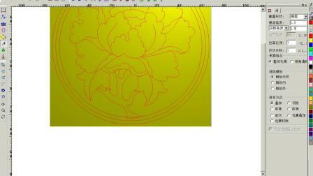 电脑浮雕设计教程 精雕软件之牡丹花浮雕制图讲解视频