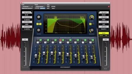 McDSP NR800是一款实时噪声消除处理器,适用于音乐制作、后期制作和现场扩声。