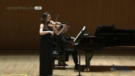 19日国际小提琴比赛半决赛 戴安娜 季申科