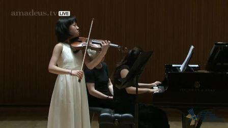19日国际小提琴比赛半决赛 丁章媛