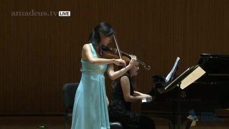 19日国际小提琴比赛半决赛 周颖