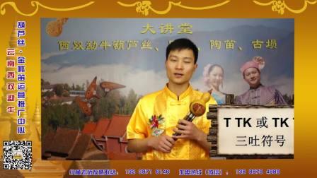 云南西双勐牛葫芦丝教学——葫芦丝三吐技巧练习