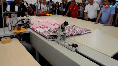 汉羽honyu HY-1510AEQY 床垫包边牵引缝制工作站_超清